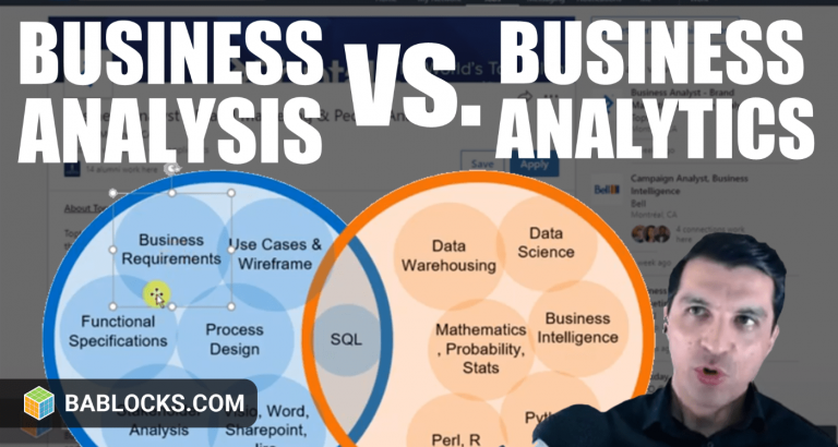 Business Analysis And Business Analytics