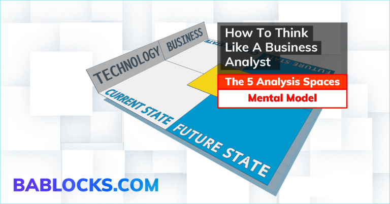 Why Business Analysis Templates Are A Bad Idea For Beginners (and what you should do instead).