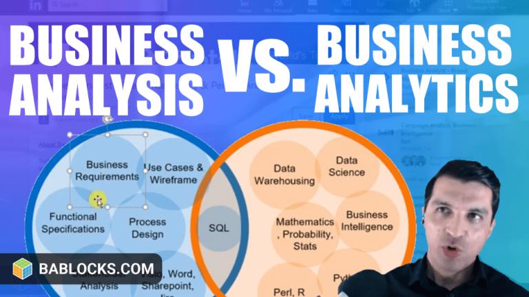 Business Analysis And Business Analytics