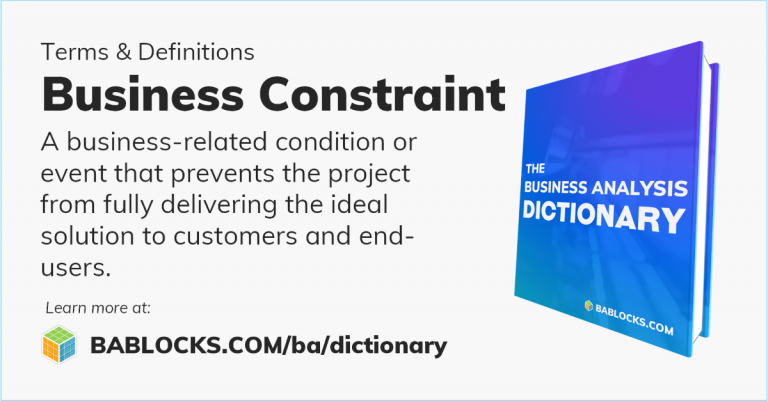 Business Constraint